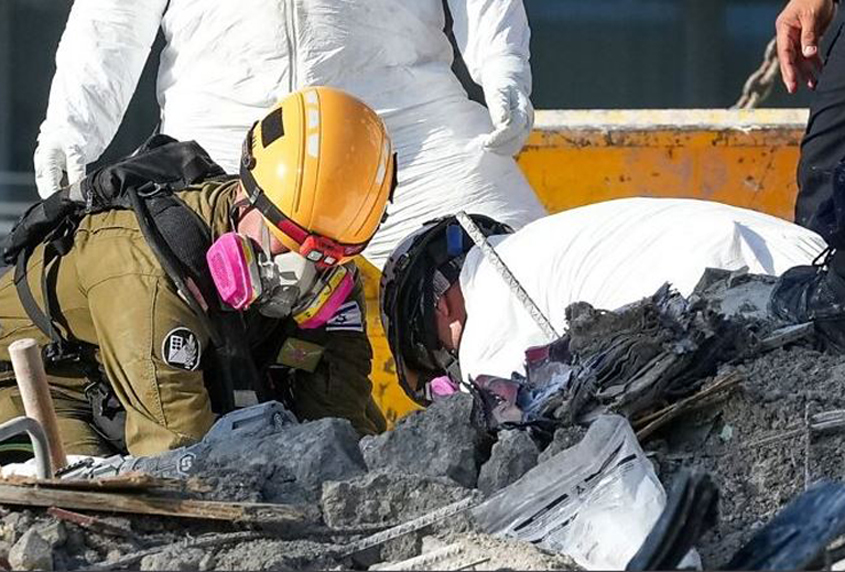 Miami building collapse: Search ends, one person unaccounted for