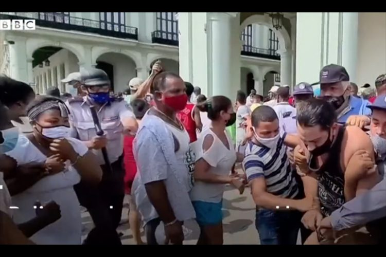 Caricom issues statement on unrest in Cuba