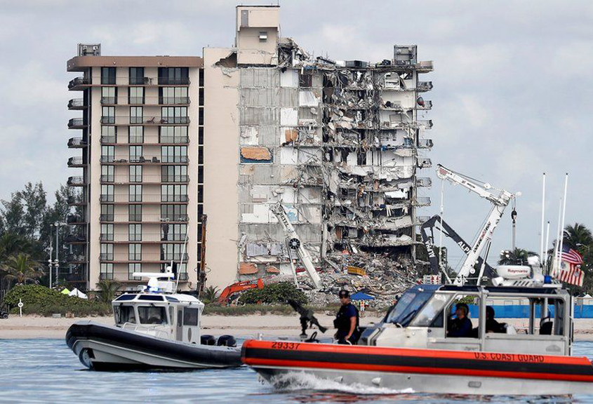 Search called off at Champlain Towers