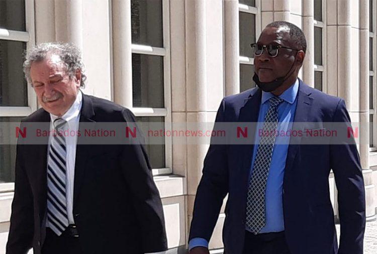 Inniss surrenders to prison authorities in US
