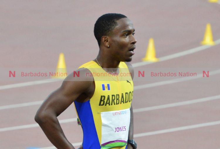 Jonathan Jones advances to next round of 400 metres