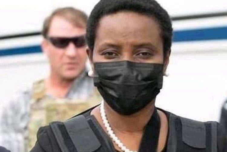 Martine Moise says thanks for 'moral support'