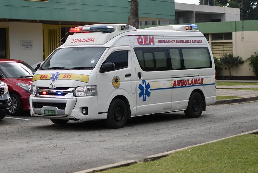 Only four QEH ambulances up