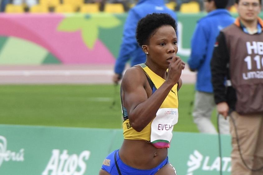 Evelyn sixth in 100m heats