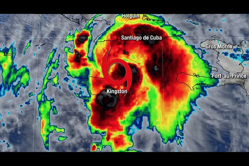Tropical Storm Elsa pounds Jamaica with heavy rains