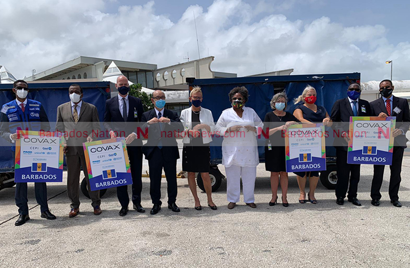Barbados receives third batch of AstraZeneca COVID-19 vaccines