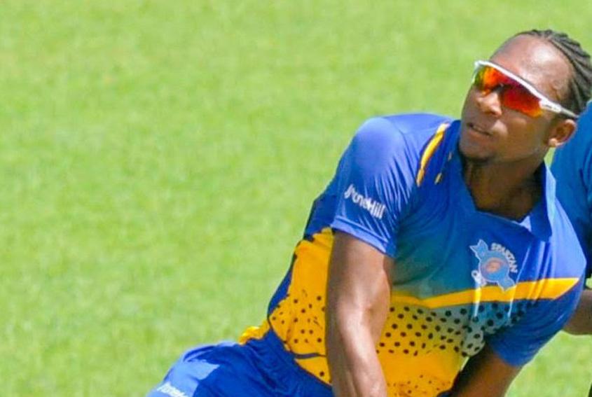 Chaim Holder taking in US cricket