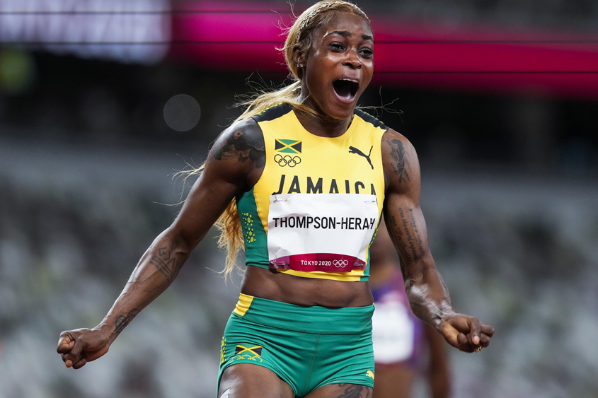 Thompson-Herah second-fastest of all time in women's 100m