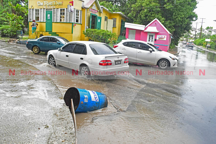Flooding still a problem on Highway 1