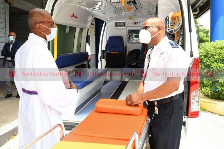 QEH gets two new ambulances