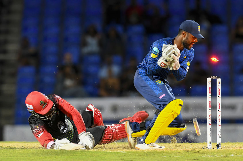Royals fall in first CPL match