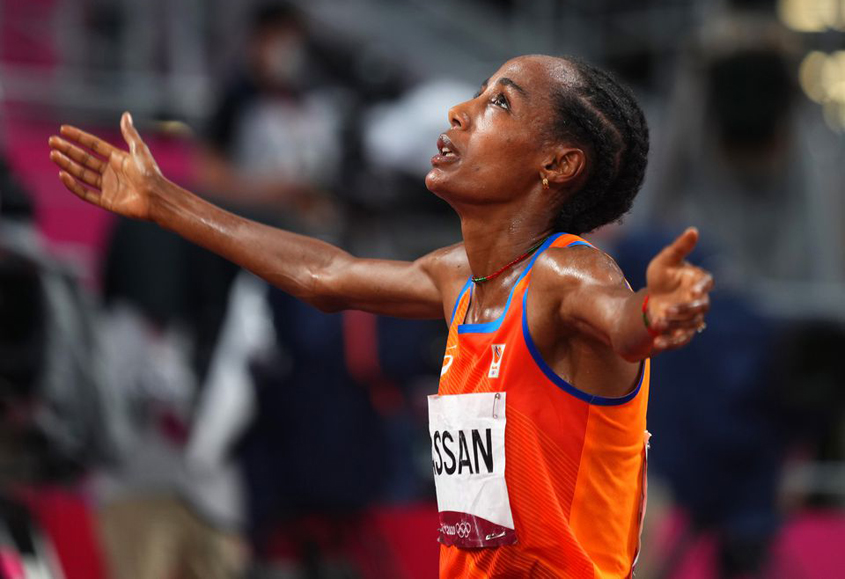 Three Olympic medals for Sifan Hassan