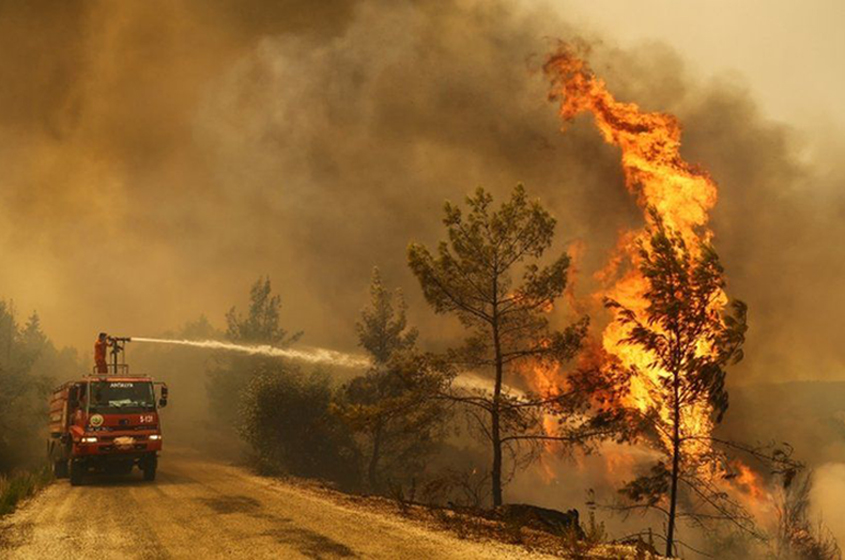 US officials: July hottest month ever recorded