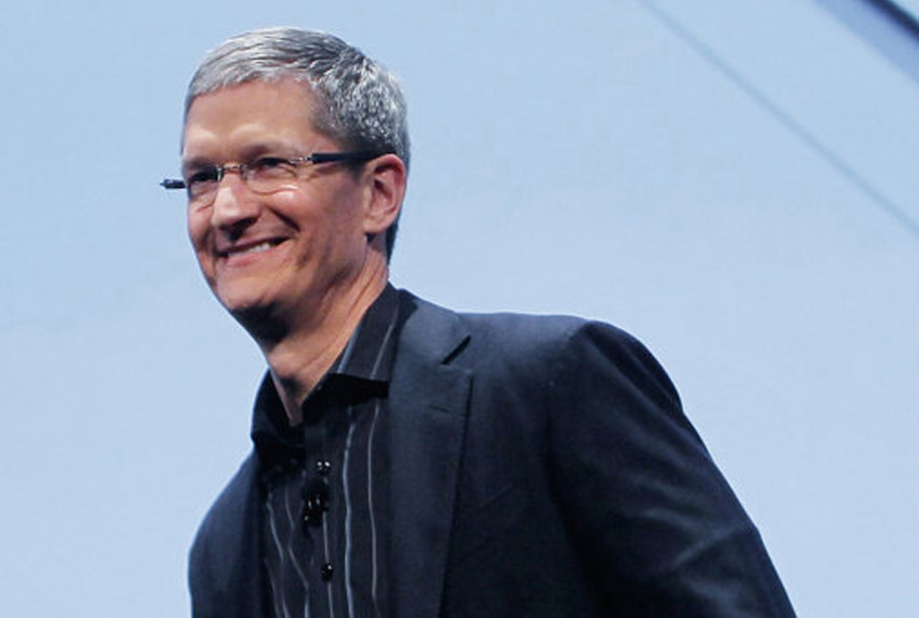 Massive payday for Apple CEO