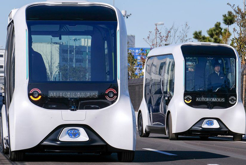 Toyota's autonomous vehicles back in operation at Paralympics