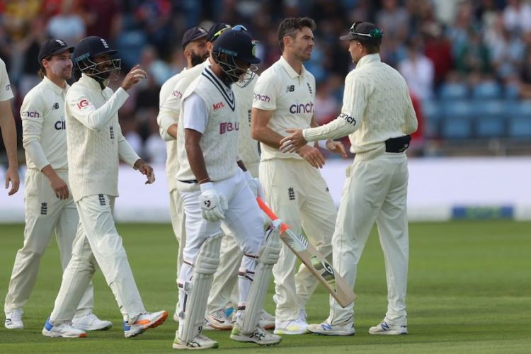 England in charge after India collapse for 78