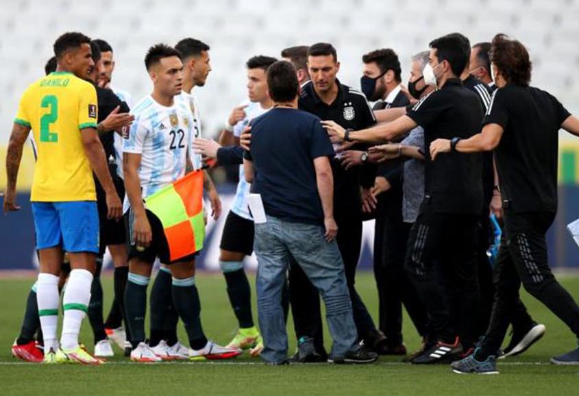 Brazil, Argentina qualifier abandoned