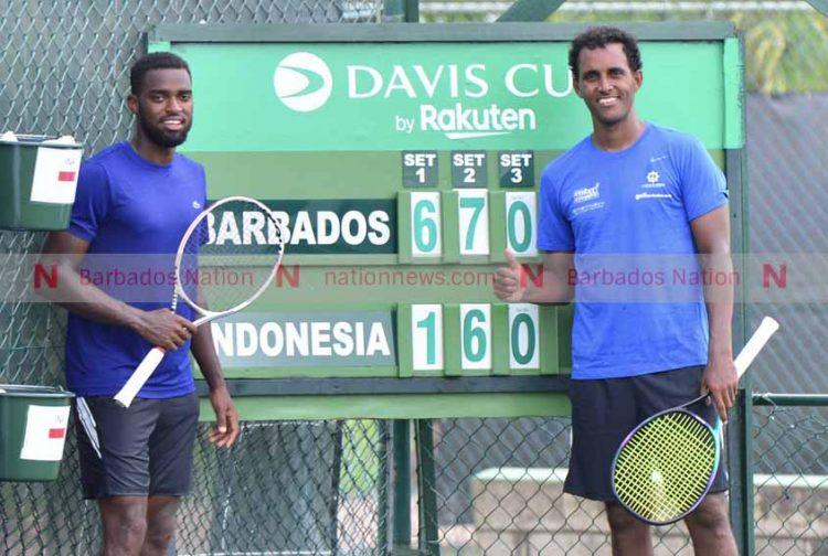 Barbados win tennis tie against Indonesia