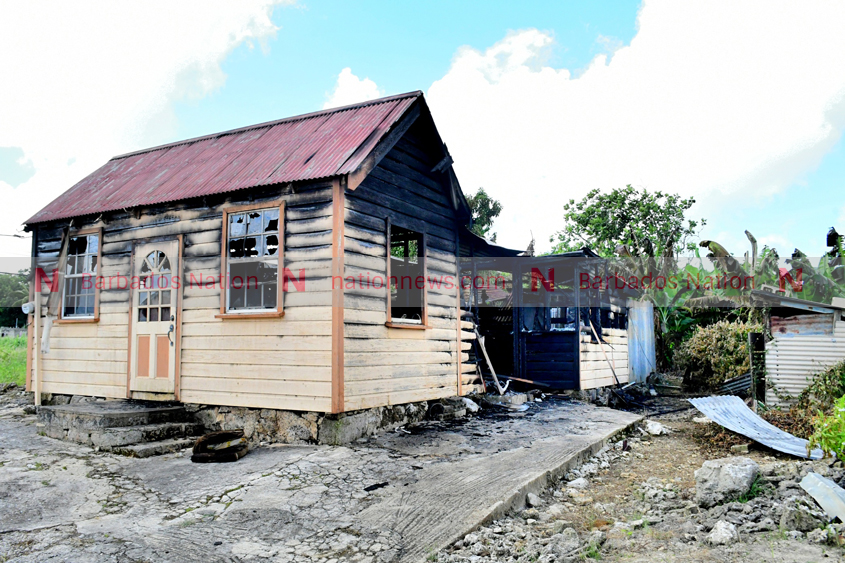 Old woman escapes as house gutted