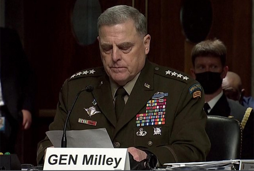 Warning from top US general