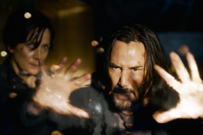 Keanu Reeves back for Matrix Resurrections