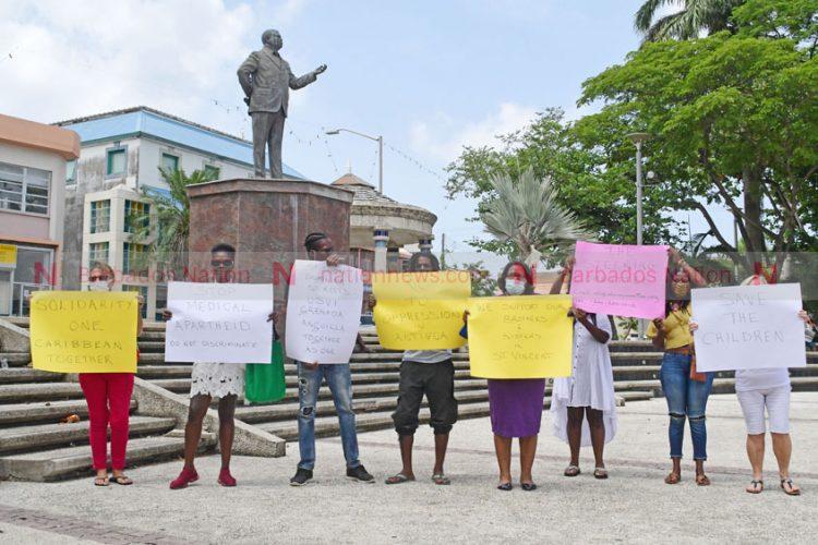'Medical apartheid' in Barbados, says Clarke