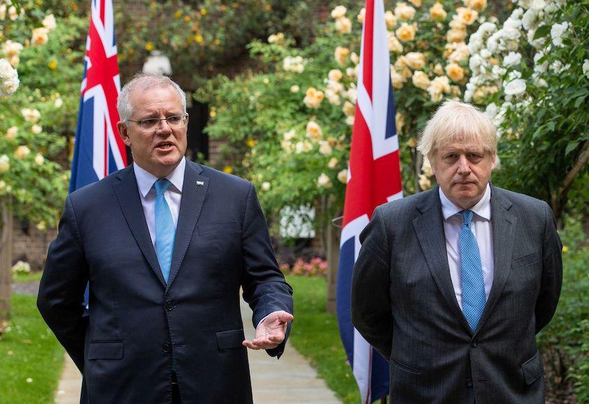 British PM Johnson asks Australia to help resolve Ashes stand-off
