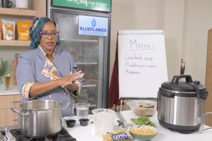 How To Cook Like A Bajan Episode 5: Cow Heel Soup