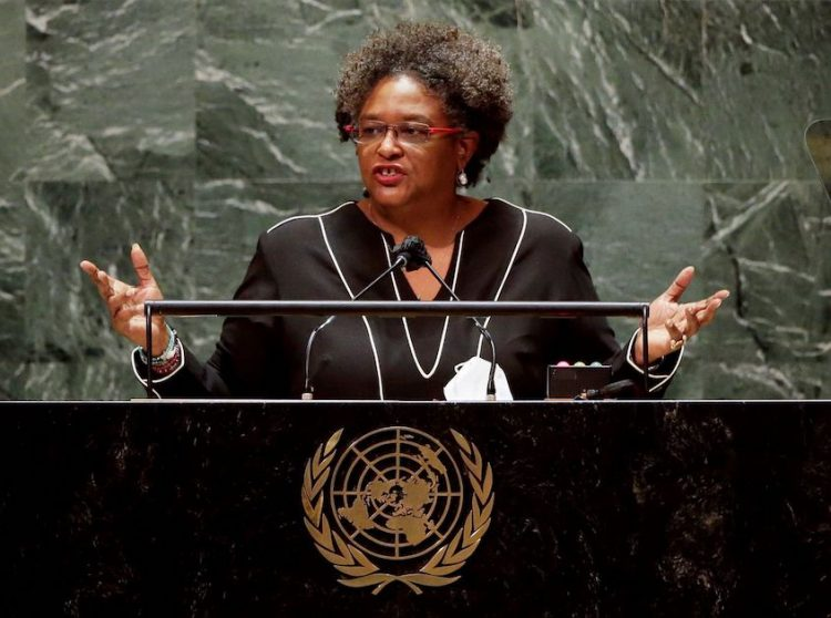 Mottley chides international community for failing to act