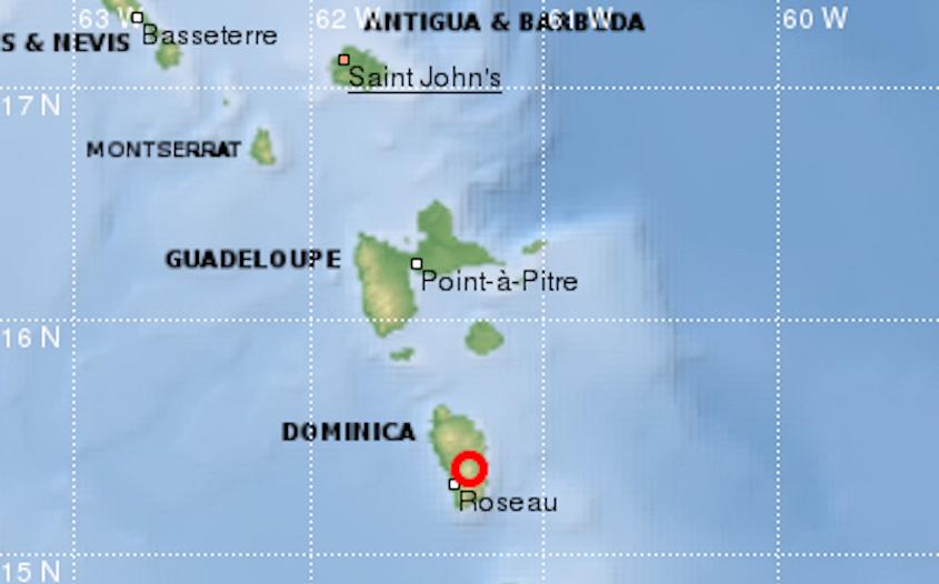 Three Caribbean islands rocked by earthquake