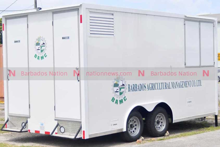 Mobile facilities for agricultural workers