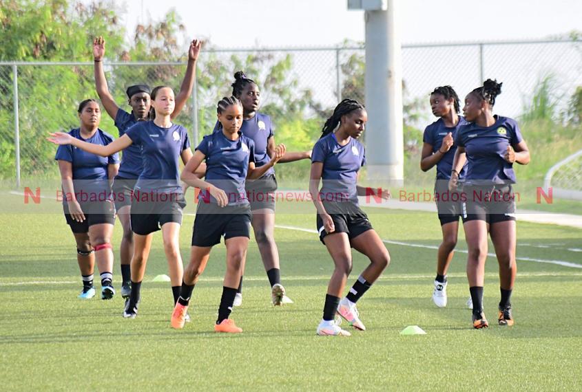 U-17 girls seeking Concacaf spot