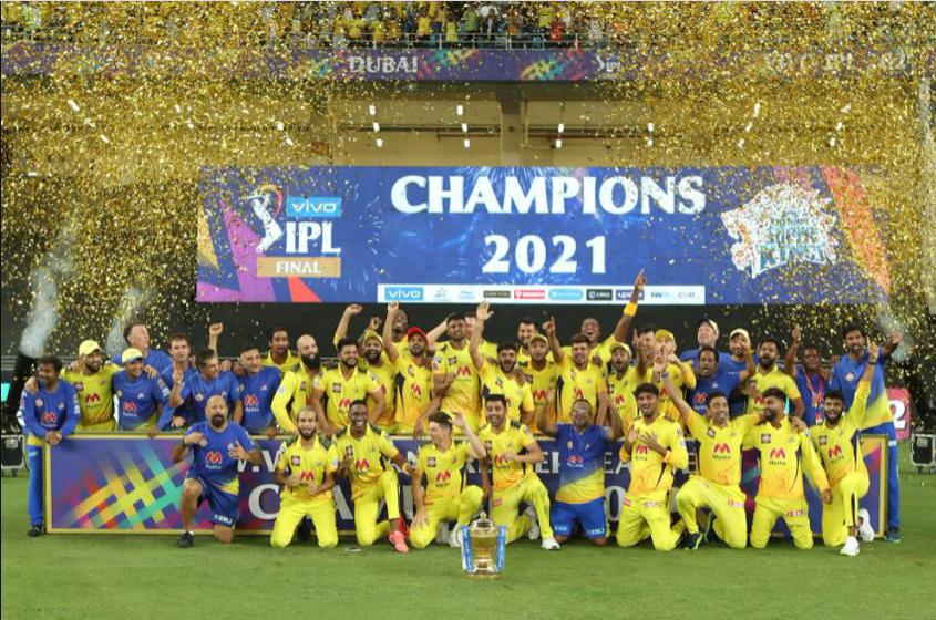 Chennai Super Kings are IPL champs