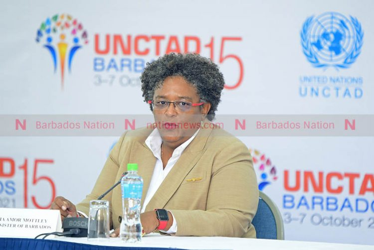 PM shines spotlight on issues affecting SIDS at UNCTAD 15