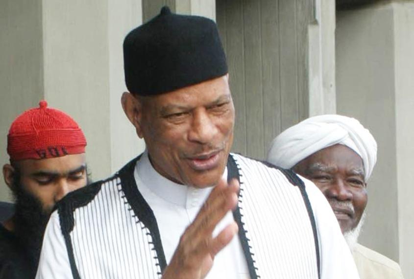 Abu Bakr dies in Trinidad hospital